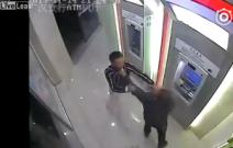 Schock am Bancomat