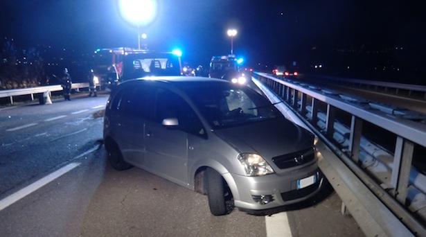 Der Unfall auf der MeBo (Foto: FF Marling)
