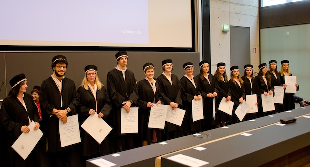 Diplomverleihung BX_Conferimento_BX