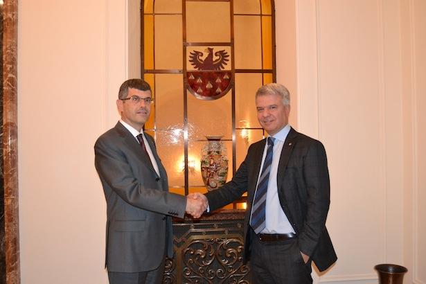 Ernst Summerer und Nicola Calabrò