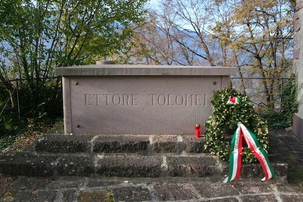 Das Tolomei-Grab in Montan
