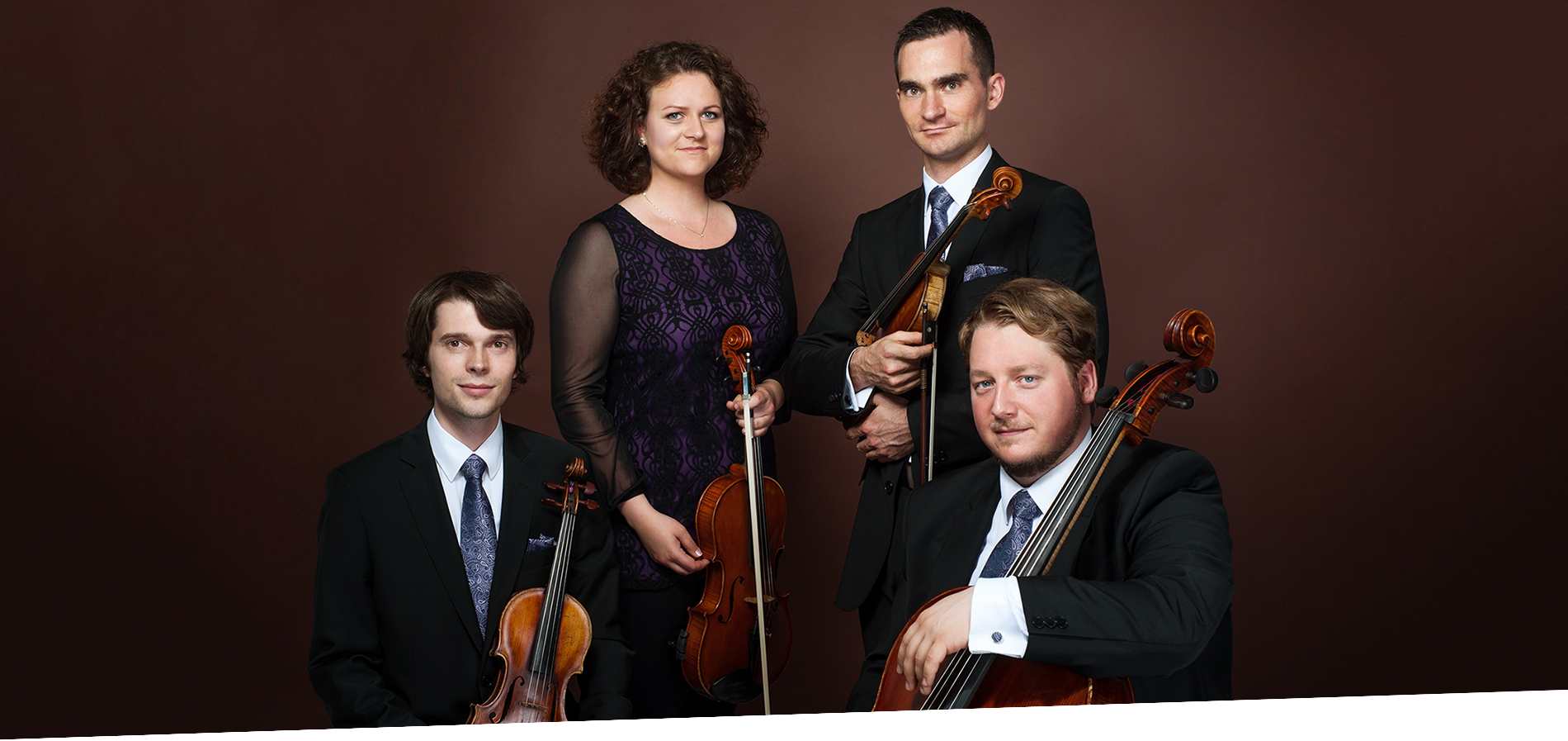 Mucha Quartet: Klassiker und slowakische Volksmusik.