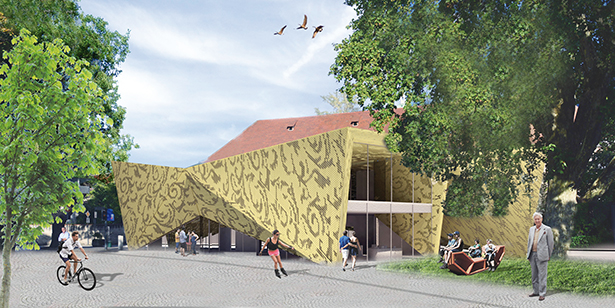 Rendering Tourismusverein von Markus Tauber
