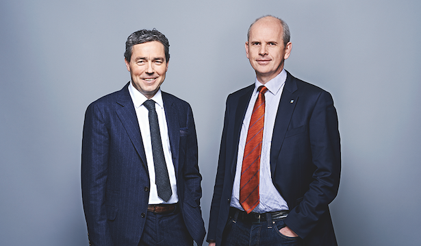Präsident Otmar Michaeler und Generaldirektor Johannes Schneebacher