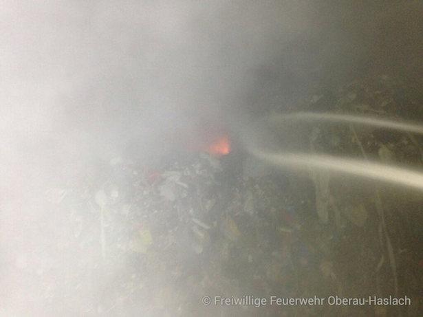 Brand Müllverbrennungsofen