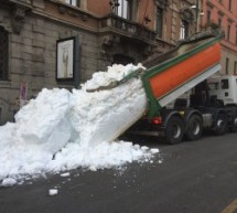 Schnee für Mailand