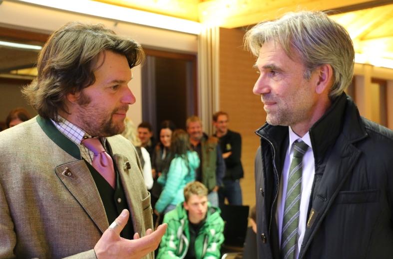 Paolo Molinari mit LR Arnold Schuler