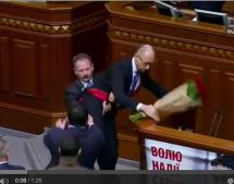 Tumulte im Parlament