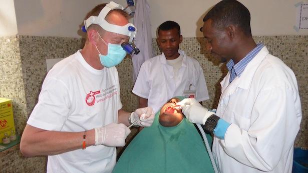 Dr. Andreas Ploner bei der Schulung