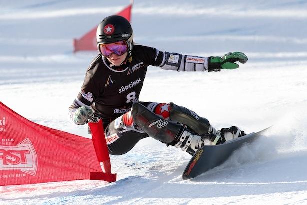 FIS Snowboard World Cup - Carezza - PGS - Ester Ledecka (CZE) © Oliver Kraus