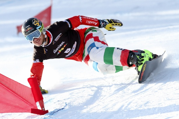 FIS Snowboard World Cup - Carezza - PGS - Aaron March (ITA) © Oliver Kraus