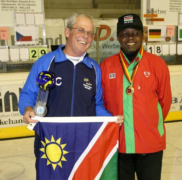 Namibia - Kenia Eisstock WM 2008