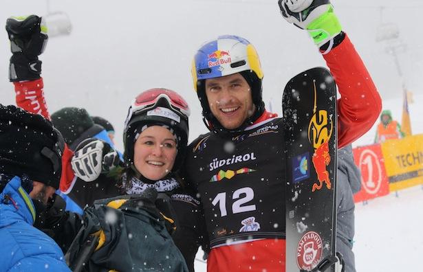 Nadya Ochner und Roland Fischnaller