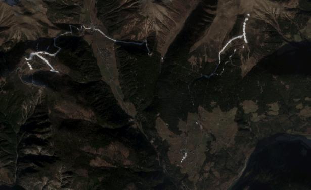 Der Gitschberg im Satellitenbild (Foto: lpa)