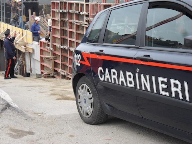 Carabinieri Baustelle