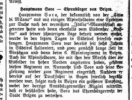 """Der Südtiroler"" vom November 1928"