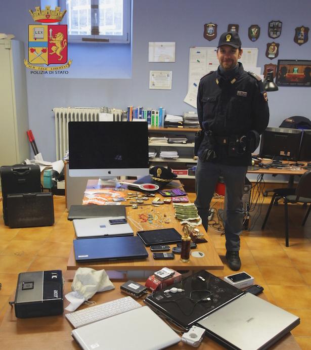 Das Diebesgut (Foto: Staatspolizei)