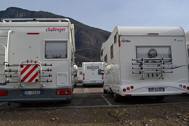 Camper am Dienstag in Bozen (Fotos: Charly Oberleiter)