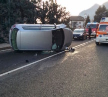 Crash in Kaltern