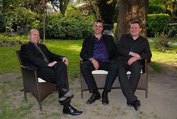 Michele Giro, Roman Hinteregger und Marco Stagni: Nie simplifizierend, nie eindimensional, vielmehr in feinen Nuancen abgemischt.