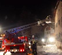 Großbrand in Abtei