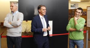 LR Richard Theiner bei der Eröffnung der Ausstellung