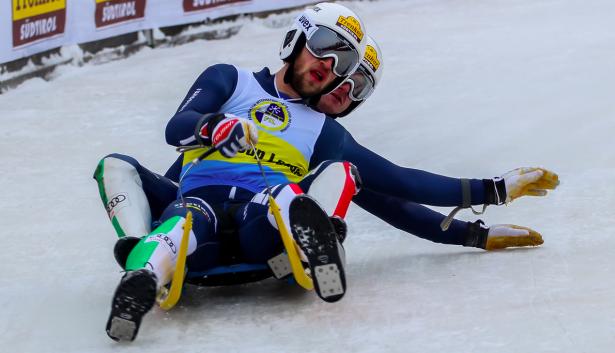 Patrick Pigneter und Florian Clara in Aktion (Foto: Peter Maurer)