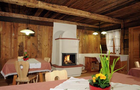 Ein Stube im Alpen Resort Zwiglhof