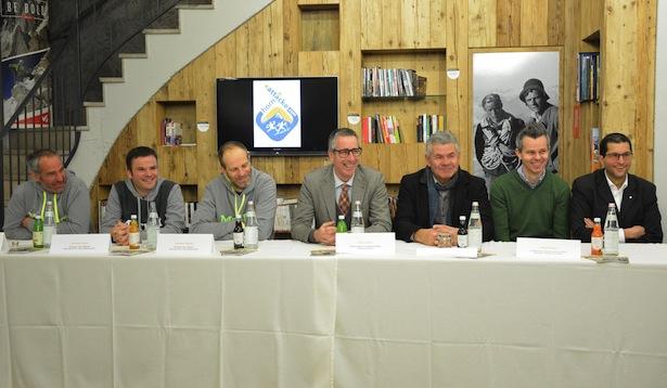 Hannes Platter, Michael Lintner, Günther Plattner, Paul Lintner, Siegfried Wolfsgruber, Klaus Pichler und Peter Göller