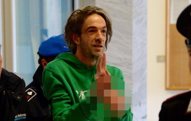 Cleto Tolpeit am Dienstag im Gerichtspalast in Bozen