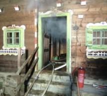 Feuer im Ferienhaus