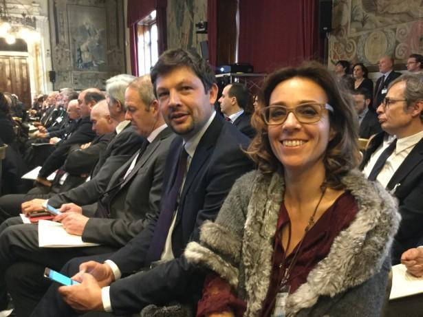 Karl Zeller, Daniel Alfreider und Elena Artioli in Rom