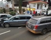 Crash in Schenna