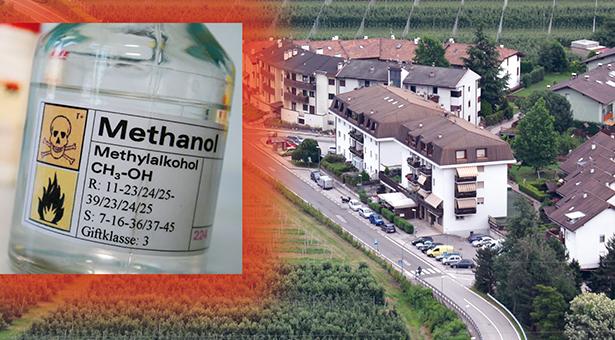 methanol mord