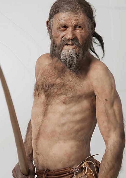Ötzi-Rekonstruktion: Wie klang seine Stimme? (Foto: Archäologiemuseum)
