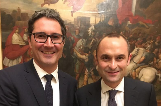 Der LH mit Minister Costa