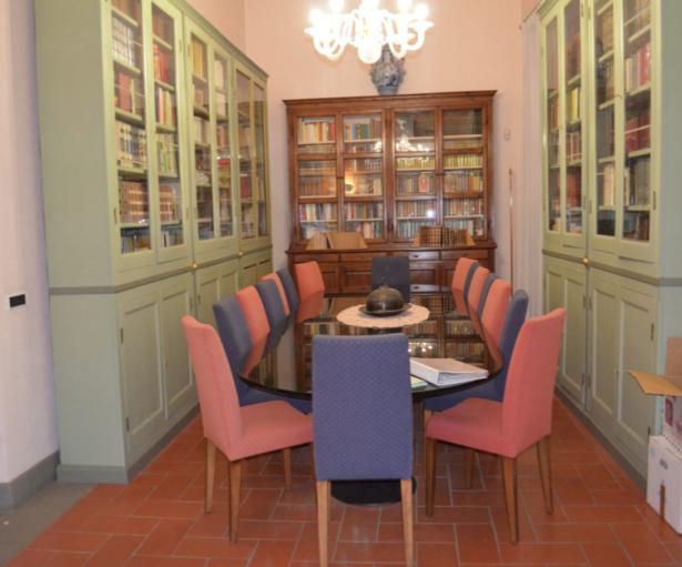 Innenansicht der Villa in Piombino
