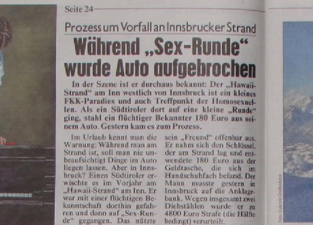 """Der Artikel in der Tiroler """"Krone"""""""
