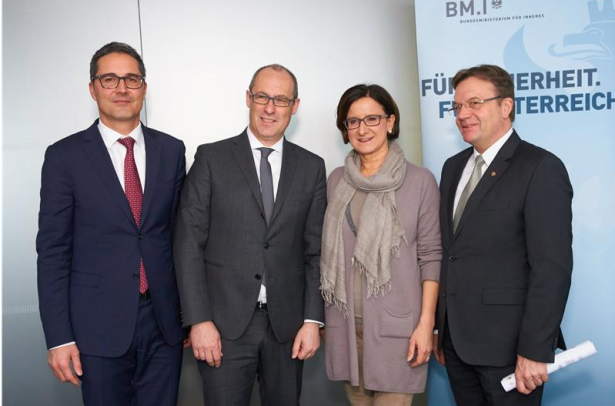 Die Landeshauptleute mit Ministerin Mikl-Leitner in Wien