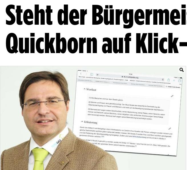 """Der Bericht der """"Bild""""-Zeitung"""