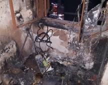 Brand im Stiegenhaus
