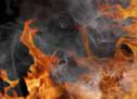 Ölwanne in Brand