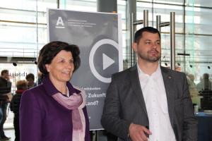 Maria Kuenzer und Roland Tinkhauser