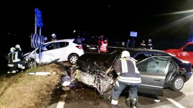 Der Unfall in Klausen (Fotos: FF Klausen)