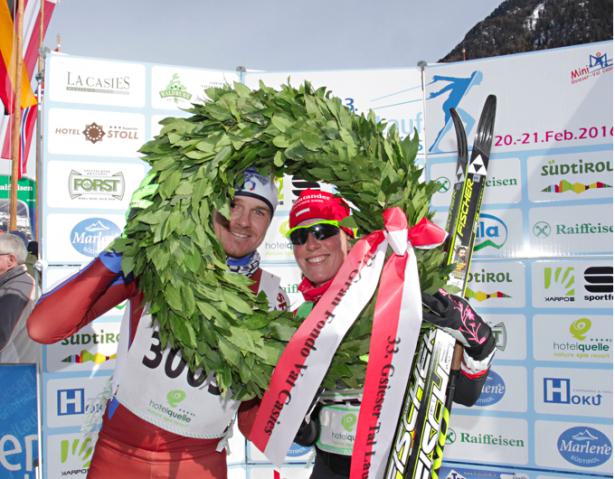 Dietmar Nöckler und Katerina Smutna (Fotos: Newspower)