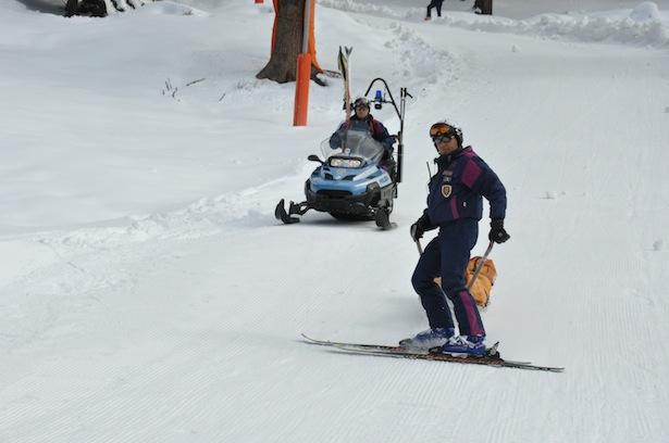 pistenrettung ski