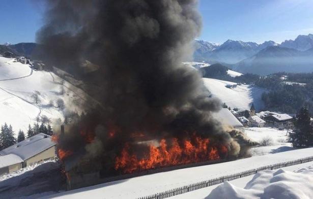 Quelle: Feuerwehren in Südtirol/Facebook/Otto Dapoz