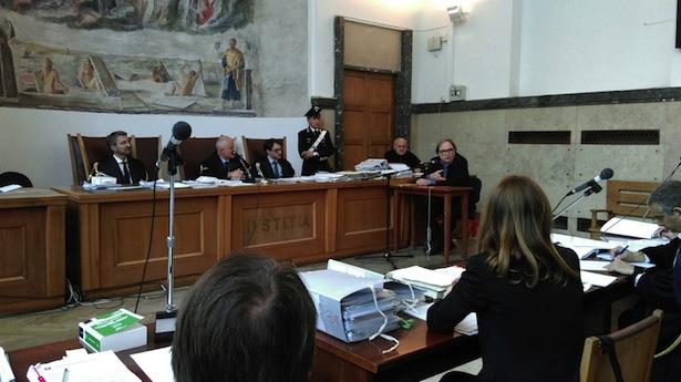 Cuno Tarfusser als Zeuge vor Gericht (Fotos: Lisi Lang)
