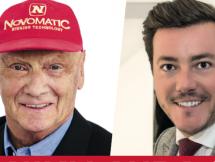 Niki Lauda in Bozen