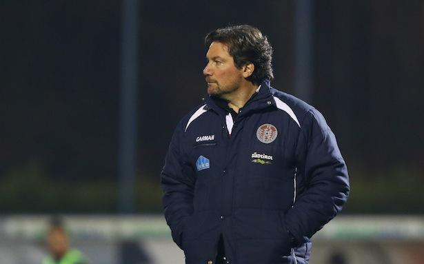 Troppa Giovanni allenatore del Sudtirol ,Feralpisalo-Sudtirol partita di lega pro,Salo 22 febbraio 2015. Ph Fotolive Simone Venezia